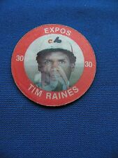 1984 Slurpee Tim Raines Expos #XX superstar coins MLB baseball $1 S&H
