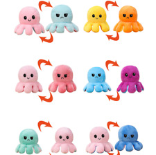 Plüschtier Kuscheltier Octopus Doppelseitiges Stimmung Mood TikTok Puppe Doll ?