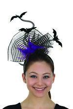 Fun Flying Bats Headband Feathers Felt Headpiece Halloween Costume Accessory