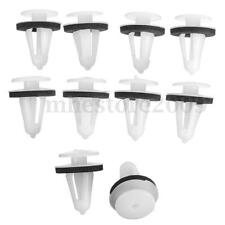 10x Car Body Side Door Trim Card Fastener Retainers Panel Clamp Clips For VOLVO