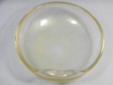ELSA PERETTI for Tiffany & Co.Thumbprint Bowl Venetian Glass 24k Gold Flecks
