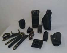 New listing Vintage Leather Police Duty Accessories for Gun Belt - Holster Speed Loader Mag
