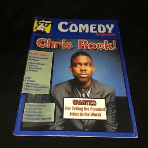 April 2000 The Comedy Magazine CHRIS ROCK Cover Letterman/Leno/Stand Up/Cartoon+