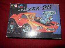 "Vintage Revell Dave Deal ""Deals Wheels"" zzzzzzz-28 Camaro 1/25 scale model"