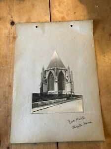 ANTIQUE/VINTAGE PHOTO OF THE CHAPTER HOUSE AT YORK MINSTER (ENGLAND) A4-SIZED