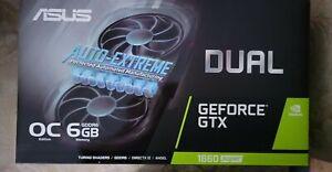 ASUS GeForce GTX 1660 SUPER OC 6GB GDDR6 DUAL-GTX1660S-O6G-EVO GPU Video Card