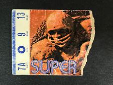 1971 Super Bowl V Ticket Stub Baltimore Colts Dallas Cowboys Chuck Howley (A)