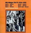 MG SHOP MANUAL SERVICE REPAIR TF TD TC WORKSHOP BOOK 36-55