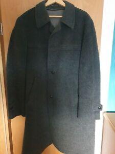 Herren Formtreu Harris Tweed Jacke Mantel Wolle XL 56