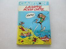 GASTON LAGAFFE T8 TBE LAGAFFE NOUS GATE DOS ROND COTE 40€ REEDITION 1970 REFV4