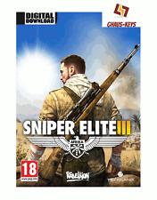 Sniper Elite III 3 steam pc game Download Code Key nouveau global [Livraison rapide]