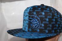 Orlando Magic Mitchell & Ness NBA 4 Way Split All Over Snapback,Cap,Hat     NEW