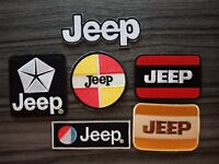 JEEP Motorsport Racing Car Motorcycles Bike embroidered patch Iron or Sew on