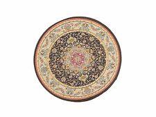 Escala 1:12 17cm de diámetro Victoriano Circular Alfombra Alfombra muñeca casa miniatura 3488
