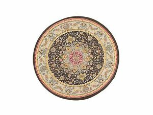 1:12 Scale 17cm Diameter Round Rug Tumdee Dolls House Miniature Carpet 3488