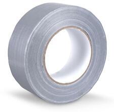 Zuverlässiges Gewebeband 48mm breit, 50m lang für Heimwerker, Hobby & Beruf grau