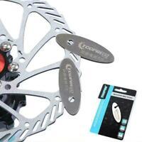 Bicycle Parts Rotor Alignment MTB Disc Brake Pads Spacer WJ Kit Bike Repair W8A1