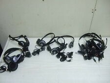 11 HEADSET MICROPHONEs / 5 Are MICROSOFT LIFECHAT LX-1000 W/ NOISE CANCELLING