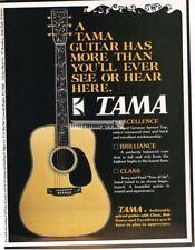 1976 TAMA 3563 Dreadnaught Acoustic Guitar Vtg Print Ad