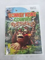 Donkey Kong Country Returns (Nintendo Wii) - FREE FAST SHIPPING