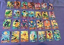 LOT 28 cartes BRILLANTES Super Dragon Ball Heroes DBZ DBS UM7