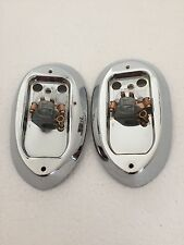MORRIS MINOR EARLY LAMP BASES RH & LH OE NO.37H5411& 37H5413 LUCAS NO. 574905/6
