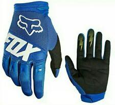 Guantes motocross fox Dirtpaw azules talla M  nuevos