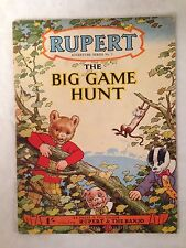 Rupert and The Big Game Hunt - Adventure Series No 5 - 1st/1st 1950 - Nice Copy
