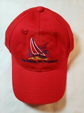 No hay ningún problema Barco De Vela Sombrero de reactivación Radio Control barcos Rojo