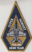 VFA-106 DEMO TEAM SUPER HORNET COFFIN SHOULDER PATCH