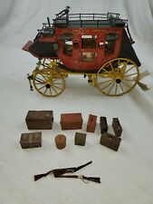 New ListingFranklin Mint Diecast 1:16 Wells Fargo Overland Stage Coach