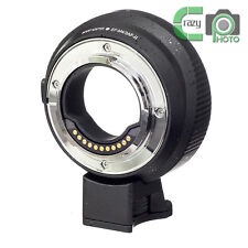 EF-M4/3 AF II Adapter for Canon EOS Lens to Micro 4/3 MFT OM-D G6 as Metabones