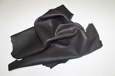 Italian thick Goatskin leather hide hides skin skins NATURAL DARK BROWN 6+sqf