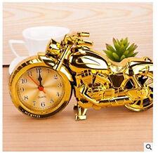 Wecker farbig Glockenwecker Uhr Glocken Wecker Tischuhr in Motorrad 23cm