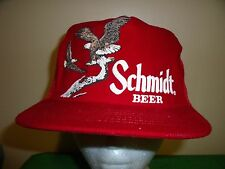 SCHMIDT BEER BIRD HUNTING MESH Baseball Cap Trucker Hat Retro Rare Unique B