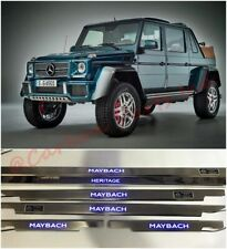 Maybach Heritage Style LED Door Sills Panels Mercedes-Benz G-Class W463 5pcs.