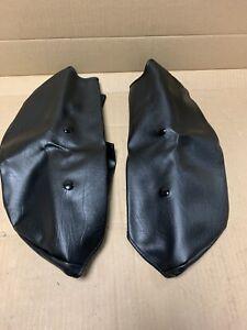 Harley Davidson Black Vinyl Soft Lowers Splash Shields 58502-80A