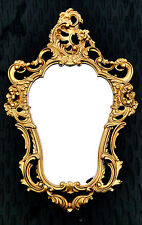 Exclusif (Ve) Miroir Mural Repro Antique Baroque de Sale Bain or 50X76