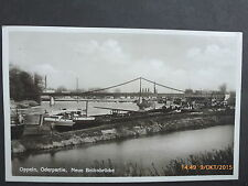 Kleinformat Ansichtskarten aus Schlesien mit Architektur/Bauwerk für Brücke