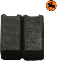 NUOVO Spazzole di Carbone BLACK & DECKER P2169A trapano - 6.3x6.3x11.5mm