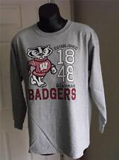 New Wisconsin Badgers Youth Large (L) T-Shirt 56Ni