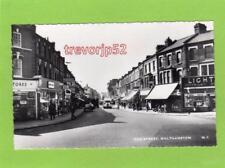 Hoe Street Walthamstow unused deckle edge RP pc Cranley Commercial Ref D140