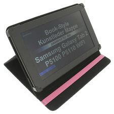 Funda para Samsung Galaxy Tab 2 10.1 Book Style Tableta Funda Protectora Rosa