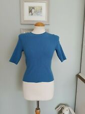 WEEKDAY BY H&M NWT NEW SKINNY RIBBED BODY CON TOP SZ XS VINTAGE/8/10/TOP/T SHIRT