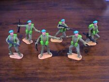 Timpo WW2 - US Army -  American Green Berets - Complete Set - 1960's