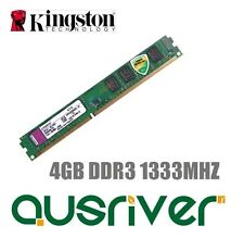 Kingston ValueRAM 4GB DDR3 1333MHz Desktop Computer Memory RAM 1.5V