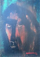 GIANDANTE X (Pescò Milano 1899-1984) VOLTO encausto su cartone cm35x50 anno 1965