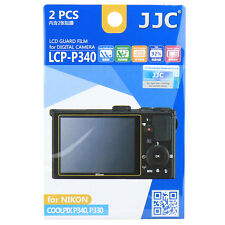 JJC LCPP340 Film LCD Camera Screen Display Protector for NIKON COOLPIX P340 P330