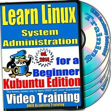 Learn Linux System Administration, 4-Disc Video Training Kubuntu Set