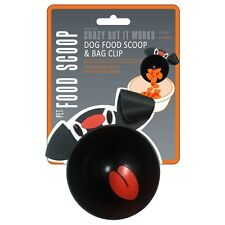 Jokari 1 Cup Dog Food Scoop & Bag Clip